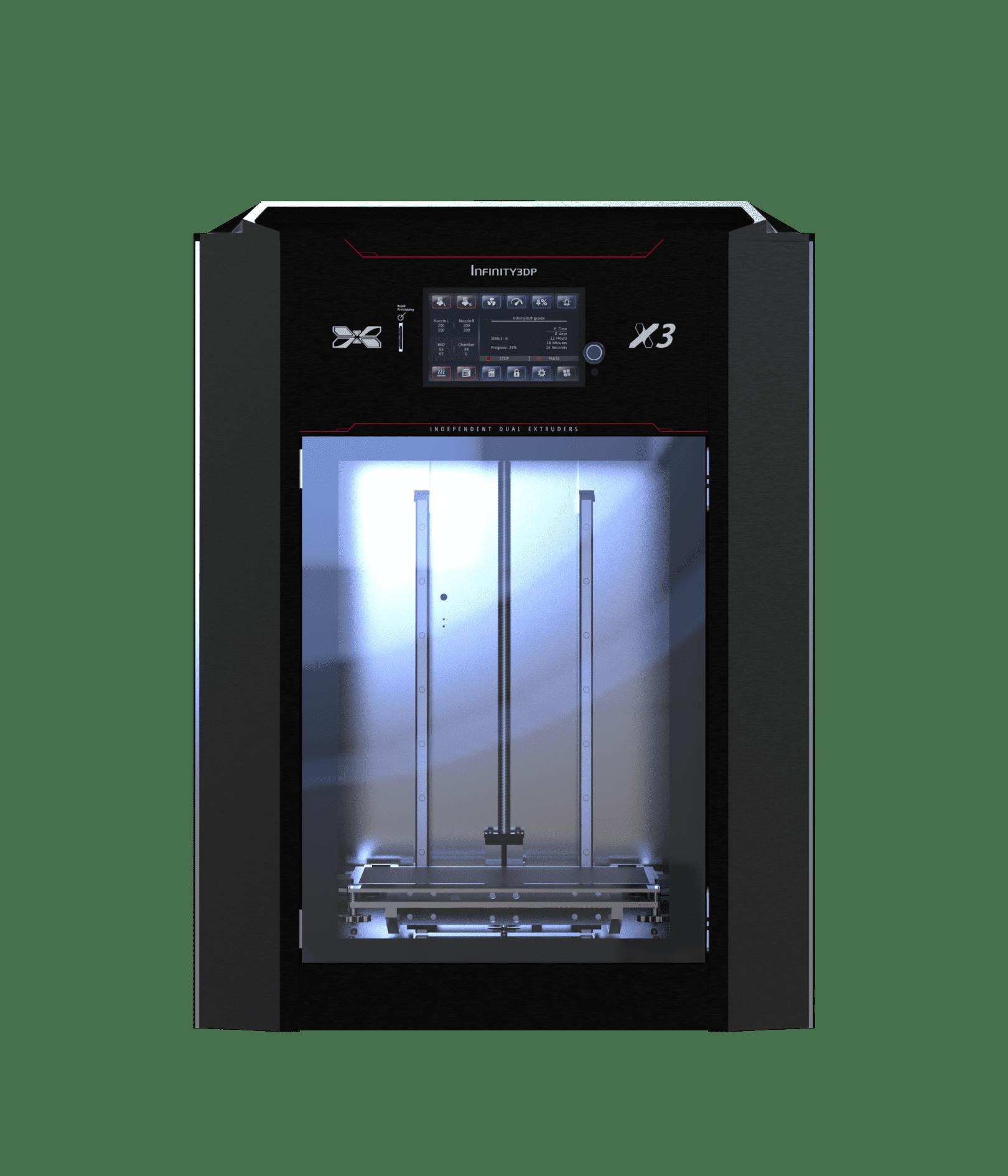 INFINITY3DP® 3D列印機種介紹 – X3