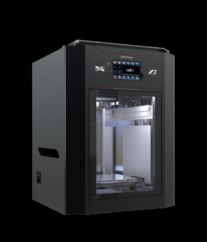 3D列印機推薦 X3 雙噴頭